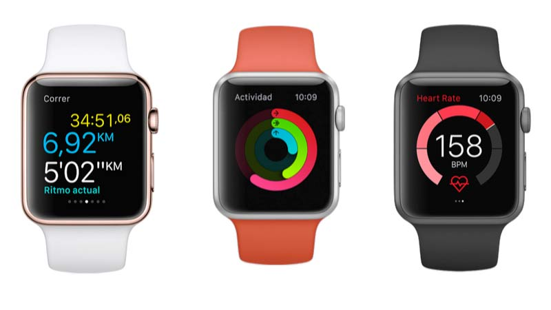 Aplicaciones para el Apple Watch