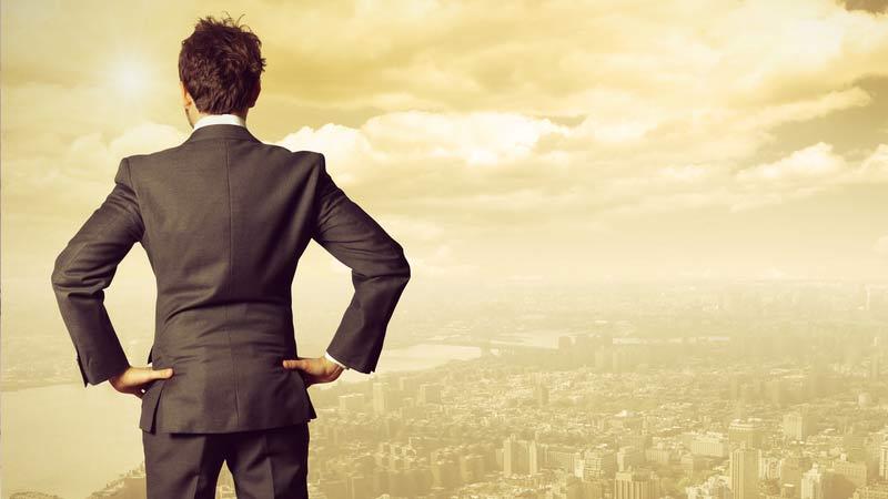 image of Lider mirando hacia el horizonte