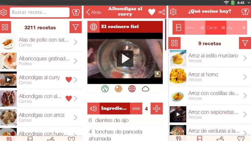Que Cocino Hoy - App
