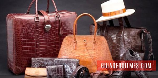 Bolsos, cinturones, carteras y accesorios de cuero