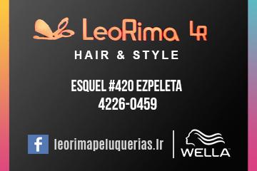 Leo Rima Hair Peluqueria en  Ezpeleta