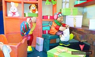 Casa de Juguetes de Navidad en Jumbo Quilmes
