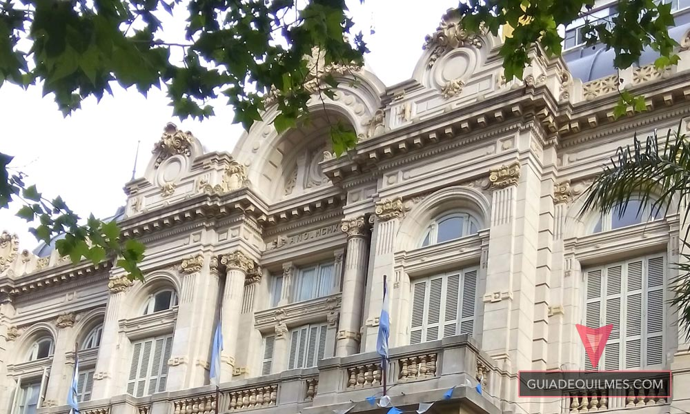 Casa de la Cultura de Quilmes Fachada Superior