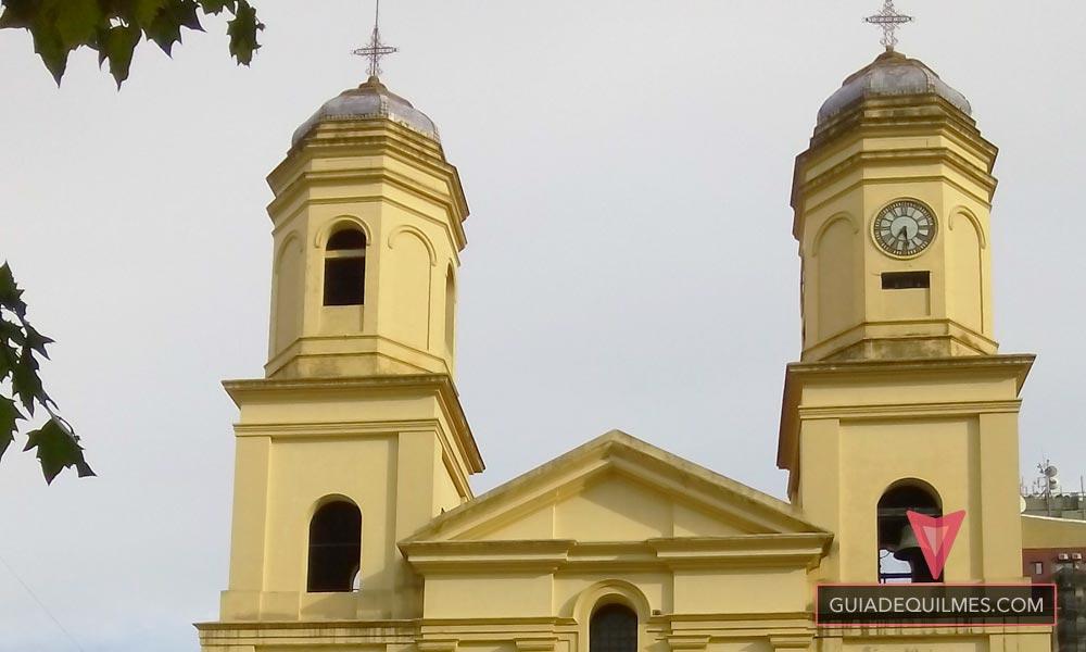 Cupulas y Campanario de la Catedral de Quilmes