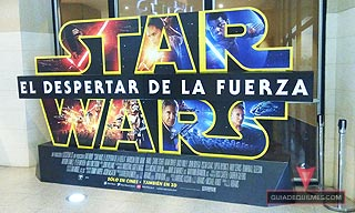 image of Star Wars El Despertar de la Fuerza en Cine Hoyts Quilmes video