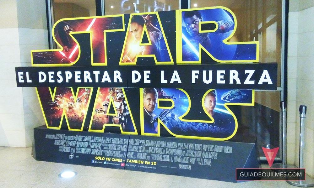 Star Wars El Despertar de la Fuerza en Cine Hoyts Quilmes