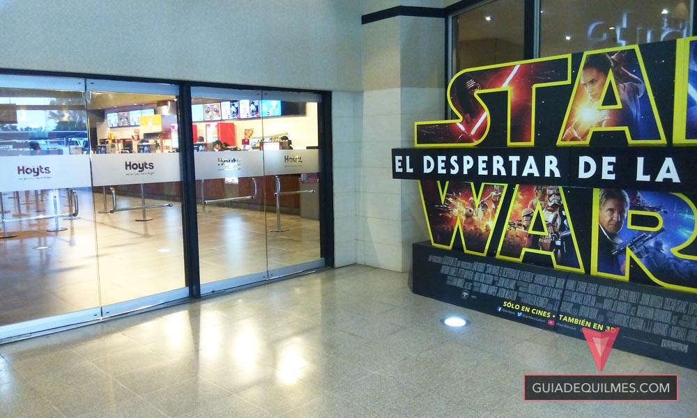 Estreno de Star Wars en Cine Hoyts de Quilmes