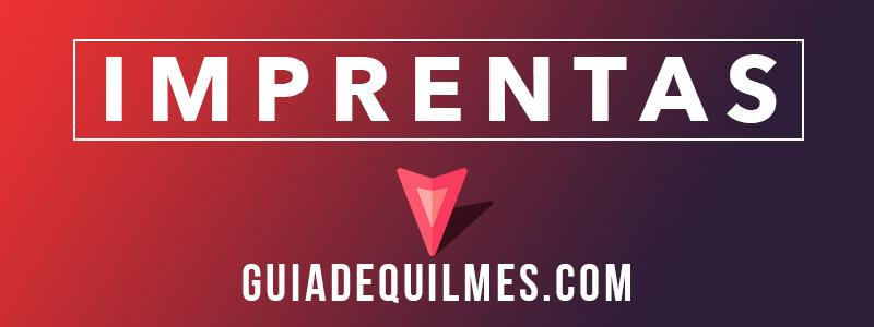 Imprentas en Quilmes y Zona Sur