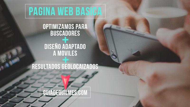 Pagina Web en GUIADEQUILMES.COM