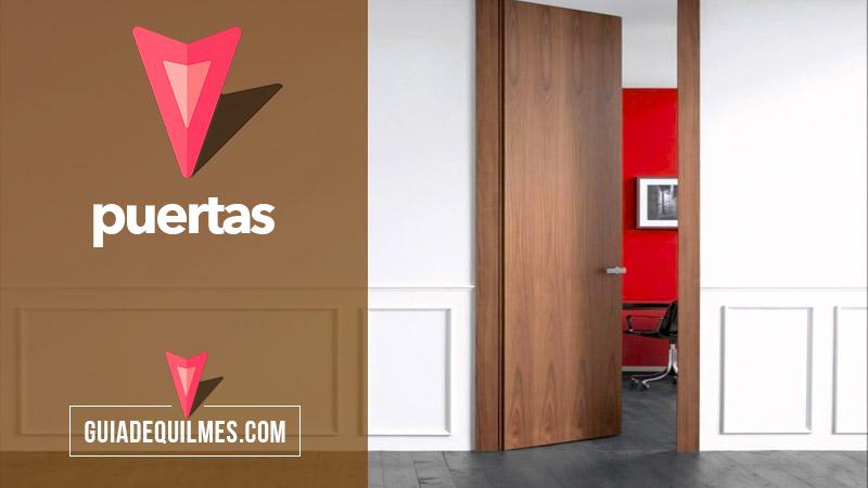 Puertas madera y aluminio quilmes y zona sur for Ventanales de aluminio zona sur